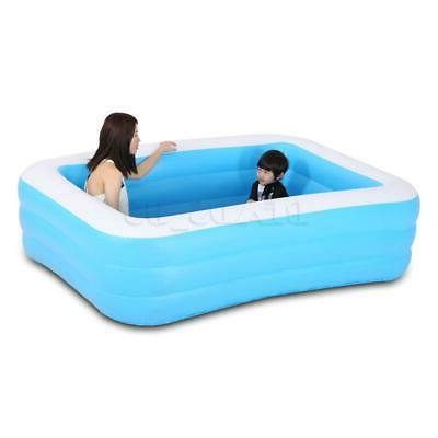 Inflatable Swimming Pool Outdoor Inflatable w/ Filter