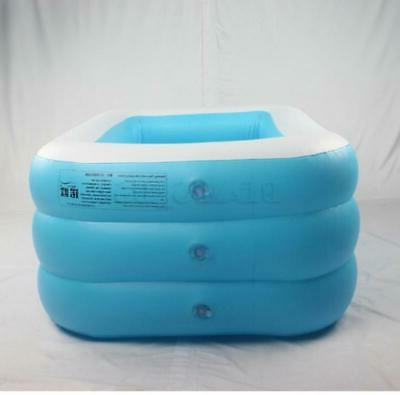 Inflatable Swimming Outdoor Pool w/ Filter