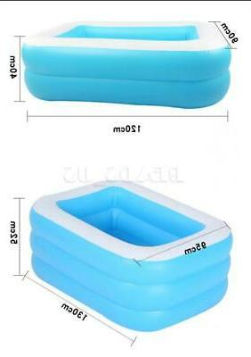 Inflatable Swimming Outdoor Family Inflatable Pool w/ Filter