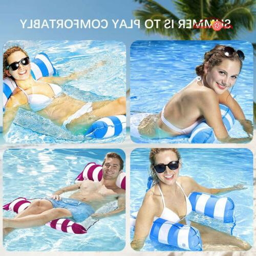 Inflatable Swimming Floating Pool Beach Lounge