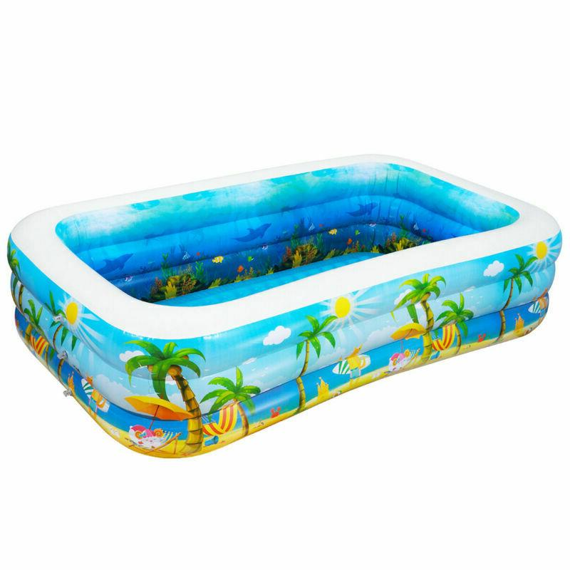 Inflatable Pool Center Big Play
