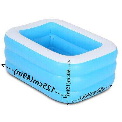 Inflatable Swimming for Kids Kiddie Adult Family PLay