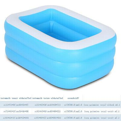 Inflatable Pool for Kids Family