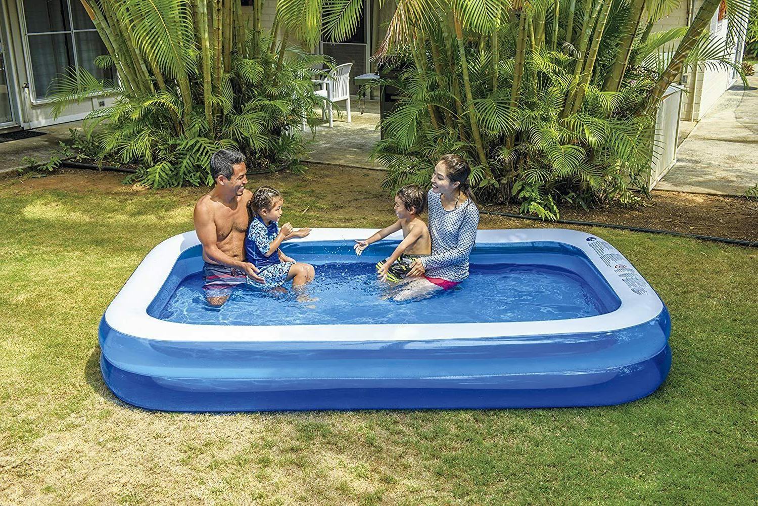 inflatable swimming pool home outdoor adult family