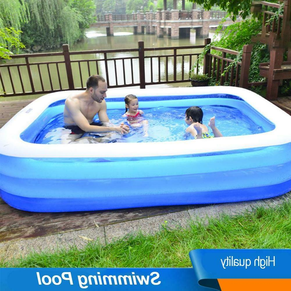 inflatable swimming pool household outdoor backyard inflated