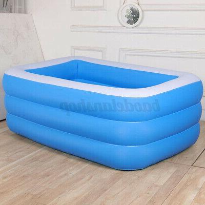 Inflatable Pools Adult Kids Family 10Ft Outdoor