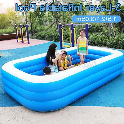 Inflatable Pools Adult 10Ft Home