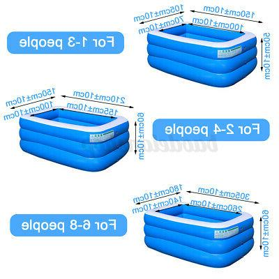 Inflatable Pools For Adult Kids Pool 10Ft Home