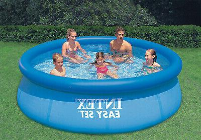Inflatable Top Ring Pool With Layer And