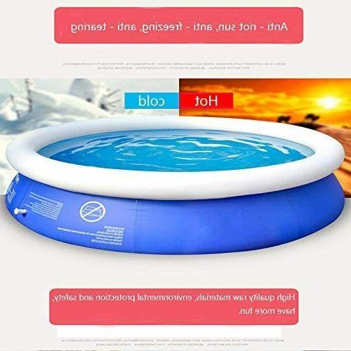 inflatable top ring round pool outdoor garden