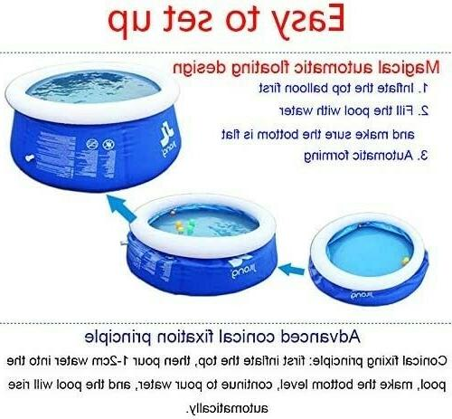 Inflatable Pools Outdoor Lawn Ground10 30