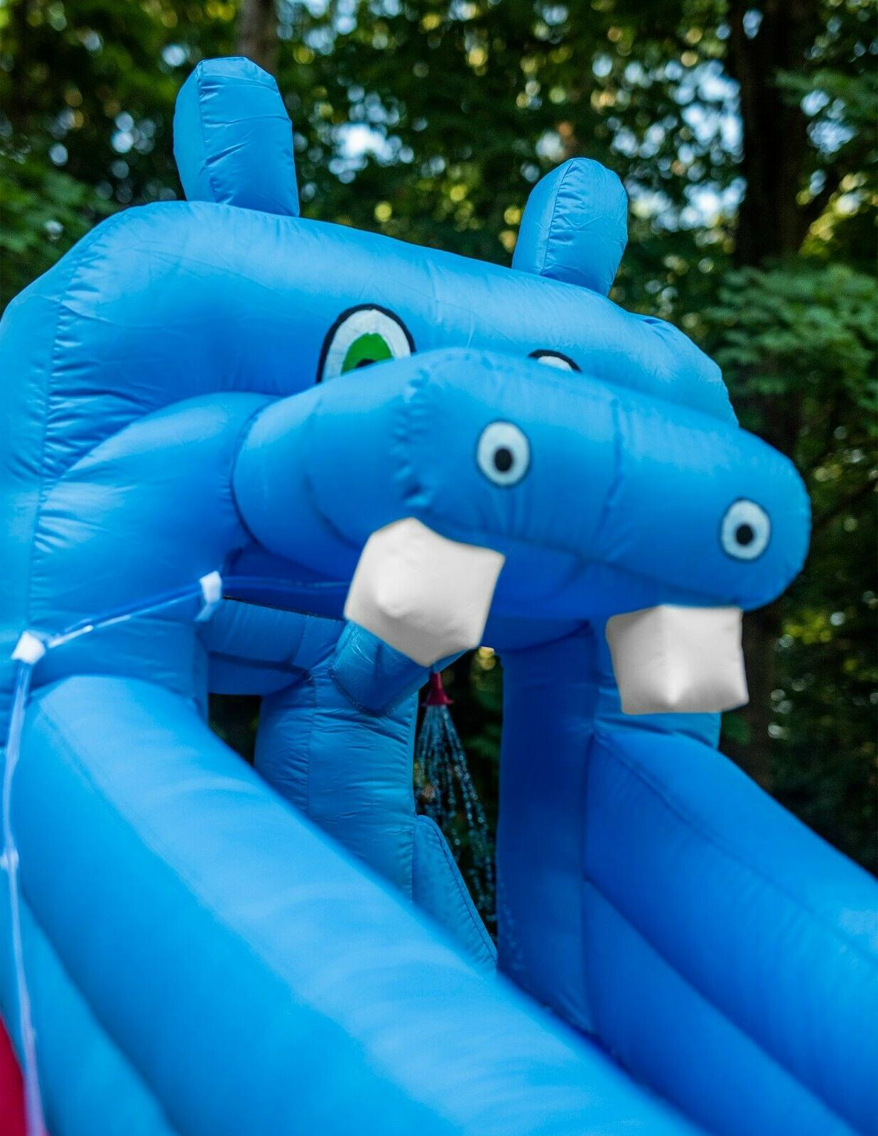 Inflatable Slide Blower for Adults/Kids Water Gun Pool