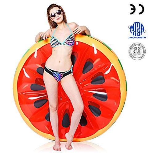 inflatable watermelon pool float