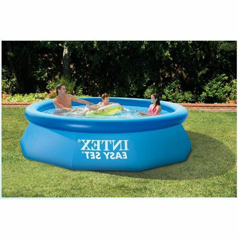 INTEX Jumbo Big Family Children Outdoor Inflatable Swimming