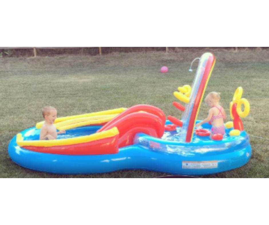 Pool Inflatable for Kid Floaties Swimming Dive Ring Heavy Du