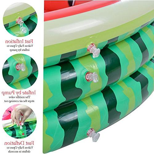 Kiddie 3 Ring Kids, Water in Summer, Inflatable Ages 3+