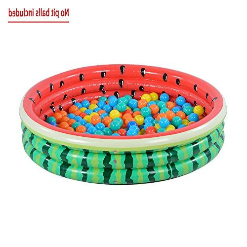 Kiddie Pool, Ring Inflatable Pool for Kids, Ideal Water in Summer, Inches Inflatable Pool, Ages 3+