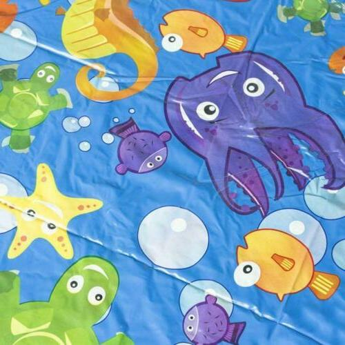 Kids Inflatable Mat Pool Beach Spray Water Outdoor Toys