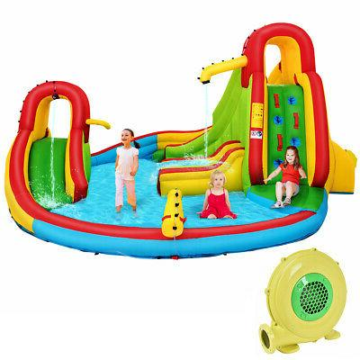 Kids Inflatable Water Bounce Pool Play