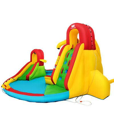 Kids Inflatable Water Pool Park Bounce House Blower