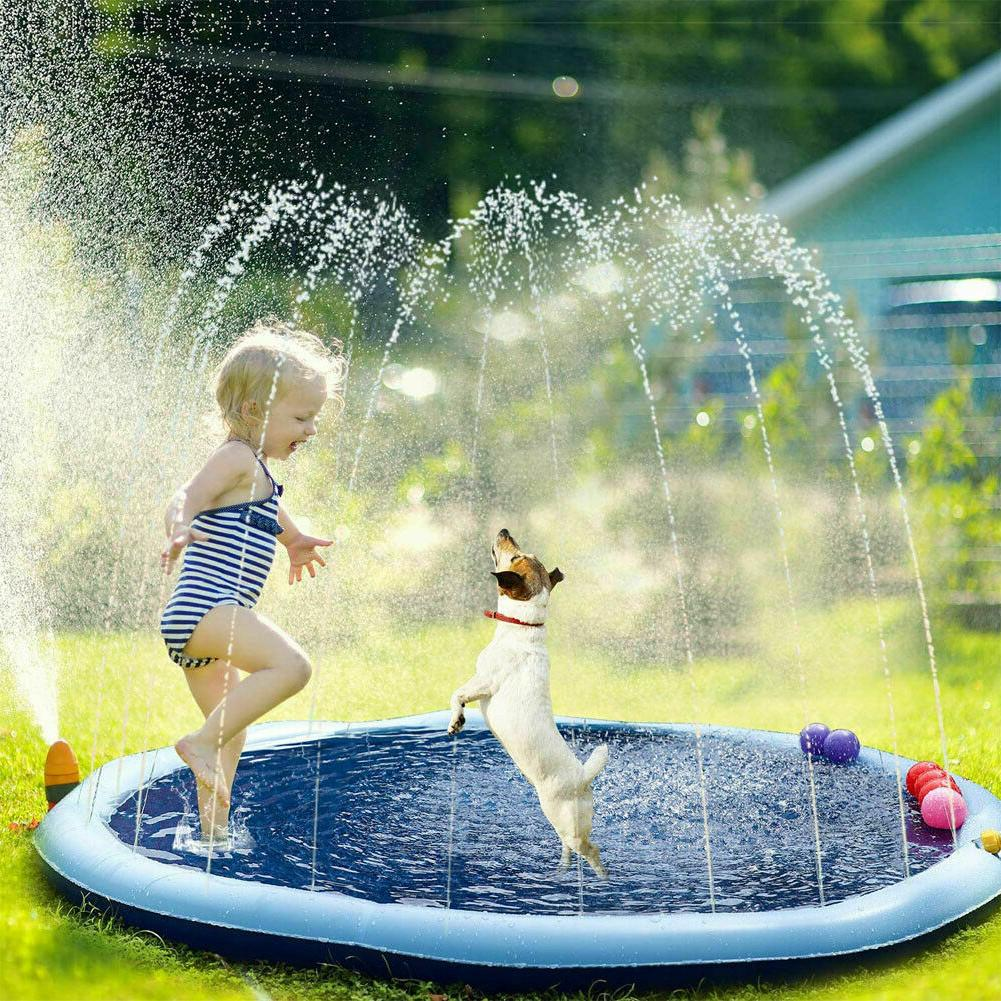 Kids Inflatable Pad Childrens Water