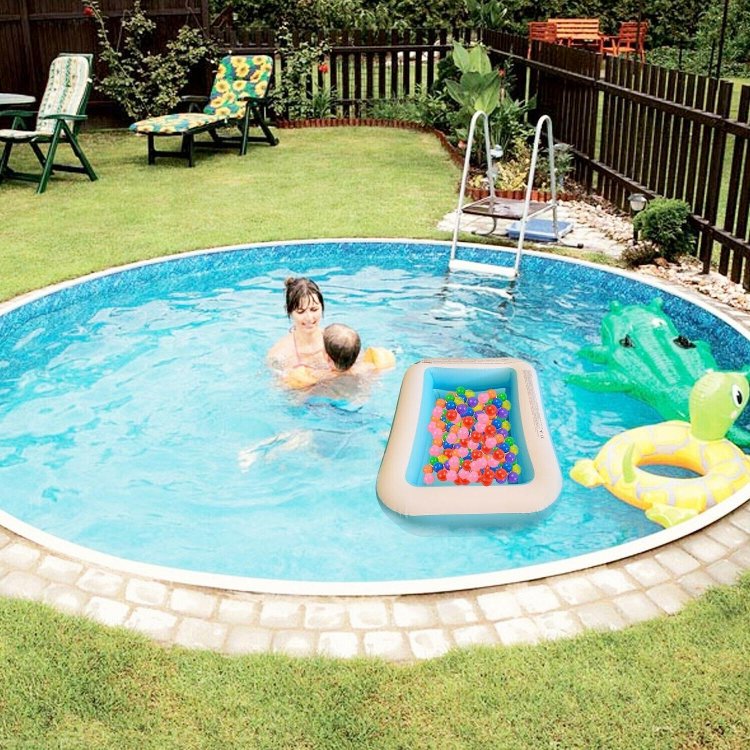 kids pool, mini pool for also be used drinks