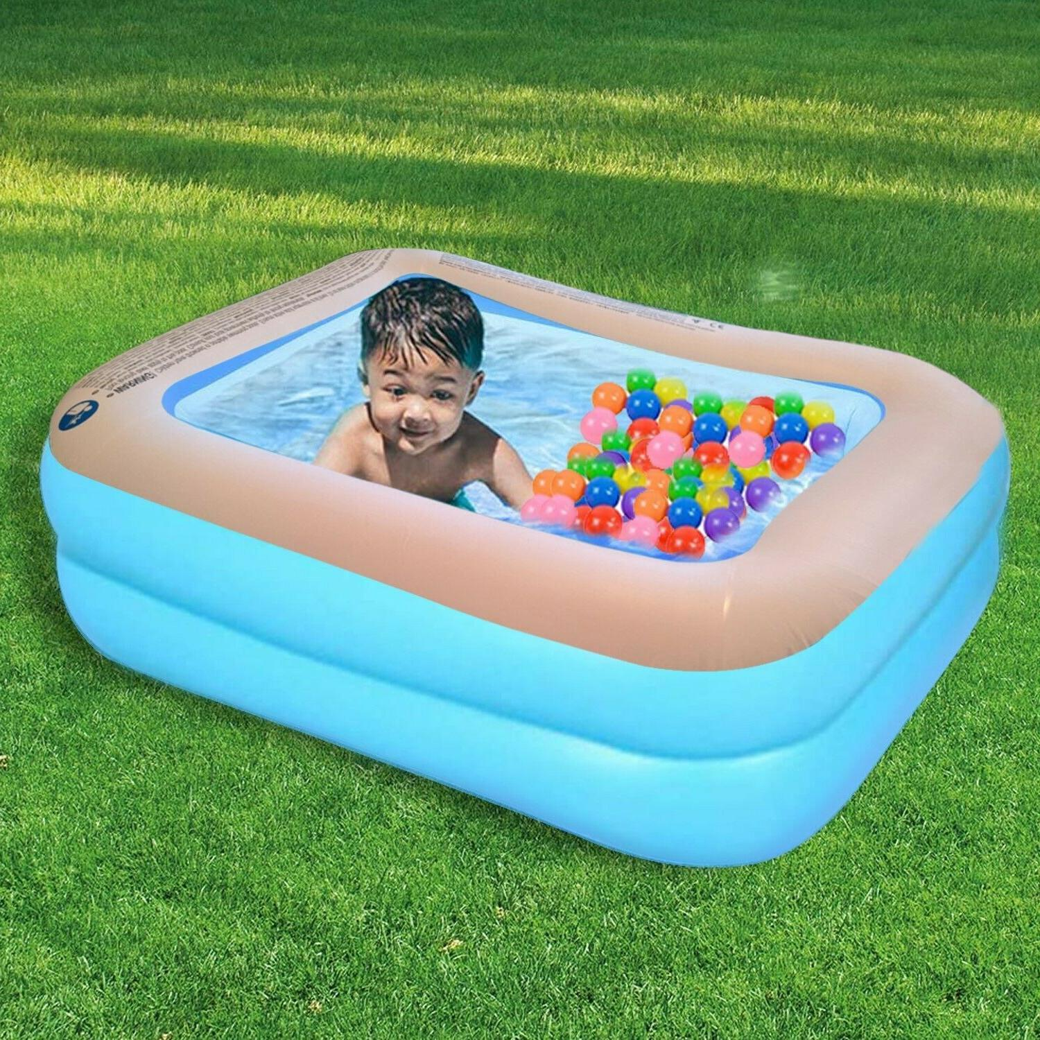 kids pool inflatable mini pool for toddlers