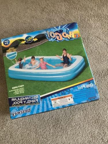 Large 10 ft long Inflatable Pool Bestway GO