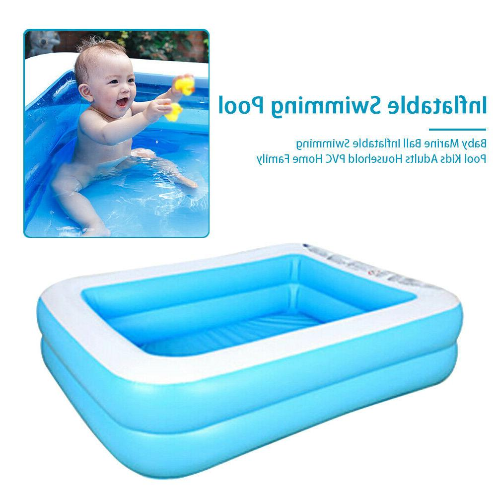 large family swimming pool outdoor garden summer