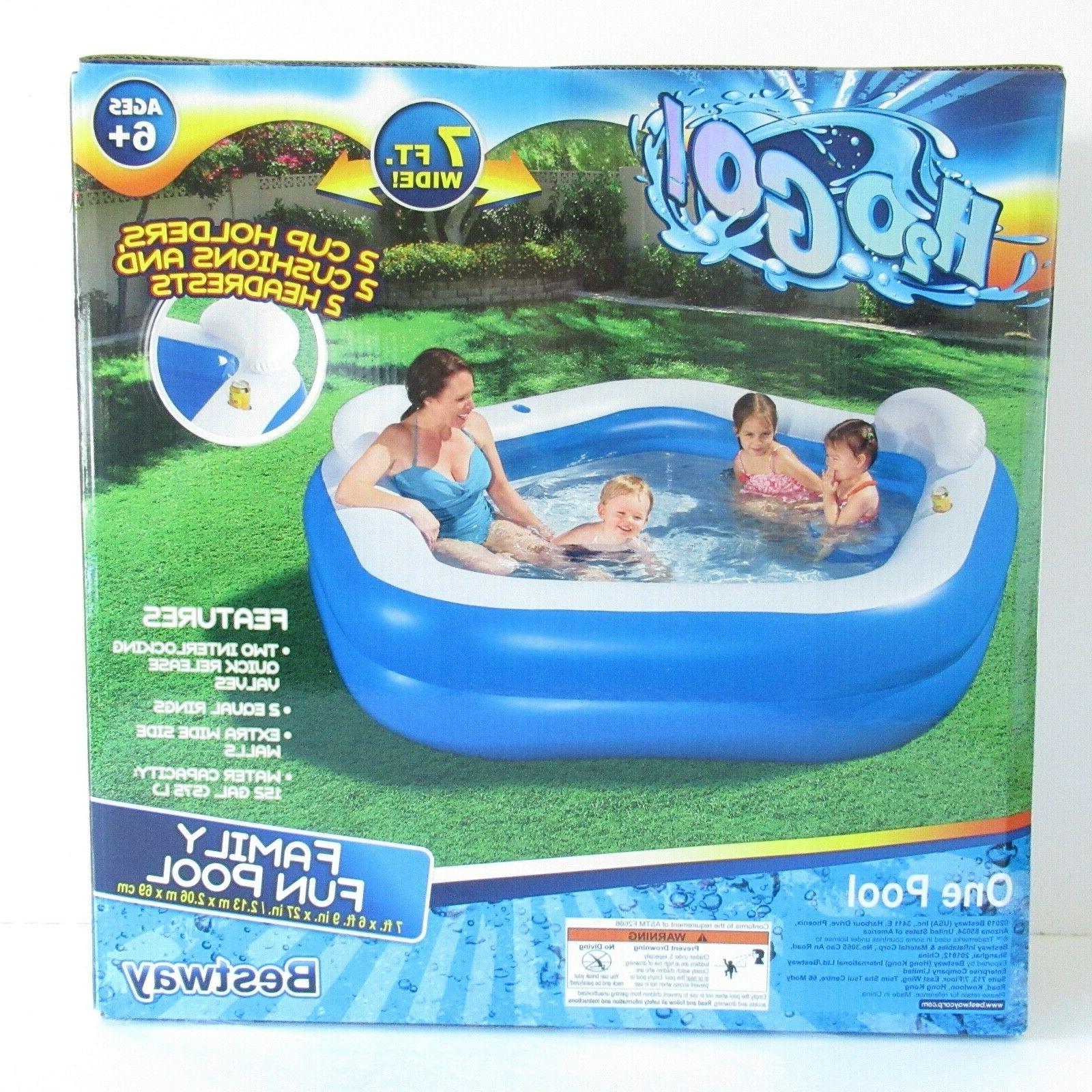 large inflatable family swimming pool by h2o
