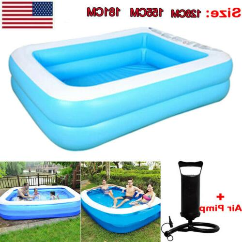 Inflatable Swimming Pool Household Outdoor Tubs for Kids