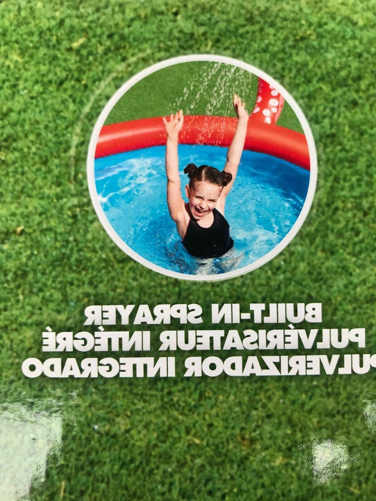 Large Inflatable Pool for Kids Spray by H2O