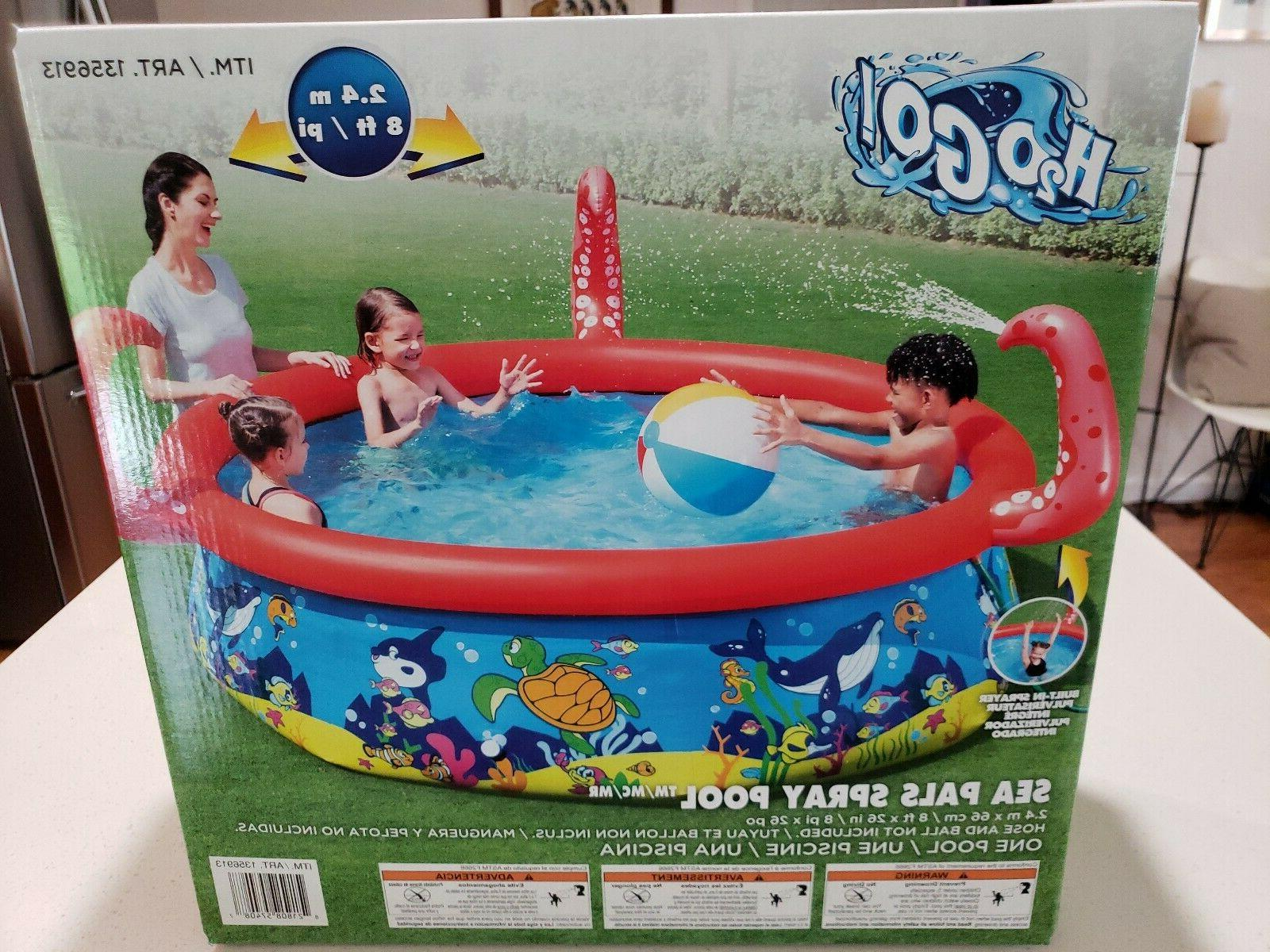 Large Pool for Sea Pals Spray Pool H2O GO!