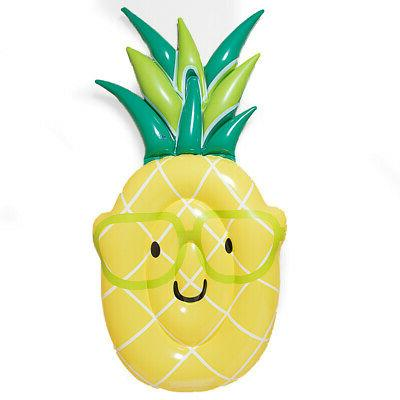 large pineapple inflatable pool float for adults