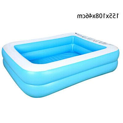 Large Family Swimming Garden Outdoor Inflatable Kids