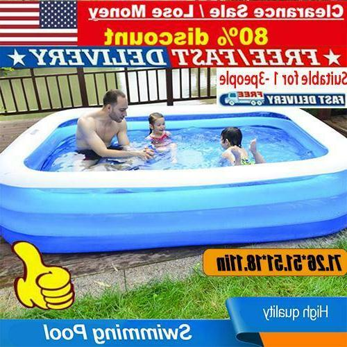large summer family swimming pool garden outdoor