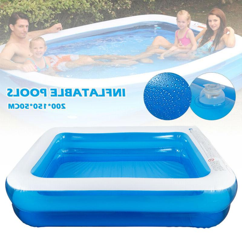 large swimming pool outdoor garden summer inflatable