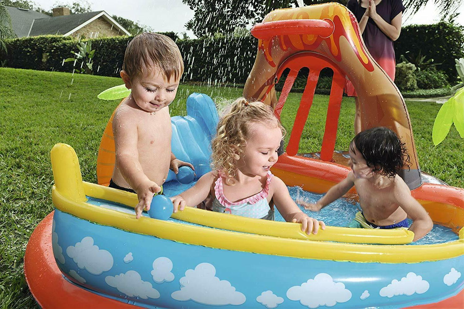 Bestway Lava Play Center Inflatable Center 55 FEET WIDE