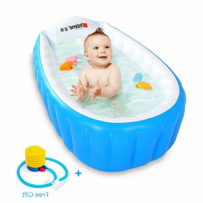 locisne baby inflatable bathtub children anti slippery