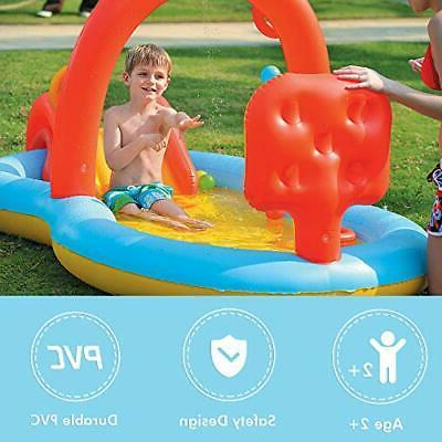 Lunvon Swimming for Play Sprinkler Wa