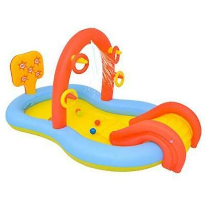 lunvon inflatable swimming pool for kids jilong