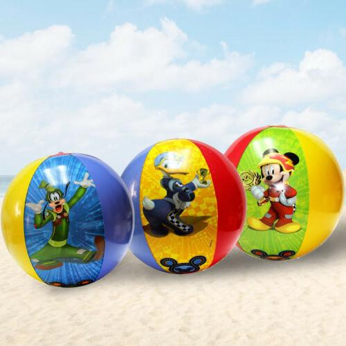 Disney Mickey Mouse & Friends Inflatable Beach Ball 3 Pack