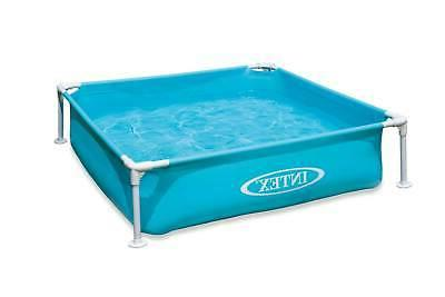 Mini Metal Frame Pool - Mini Frame Pool-Blue, Age 2+