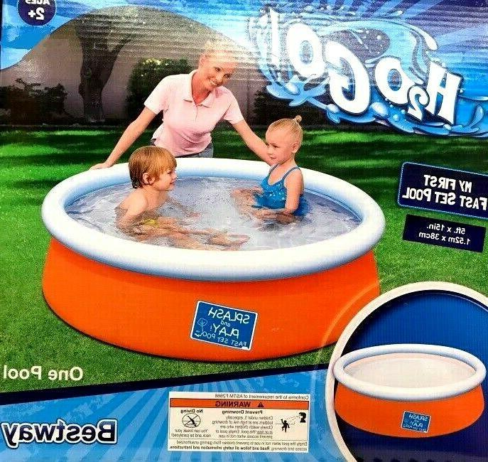 my first kiddie pool party h2o go