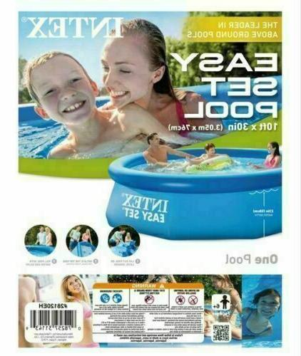 new 10 x 30 inflatable pool easy