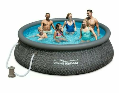 new 12ft x 36in quick set inflatable