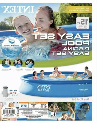 new 15 x 33 easy set inflatable