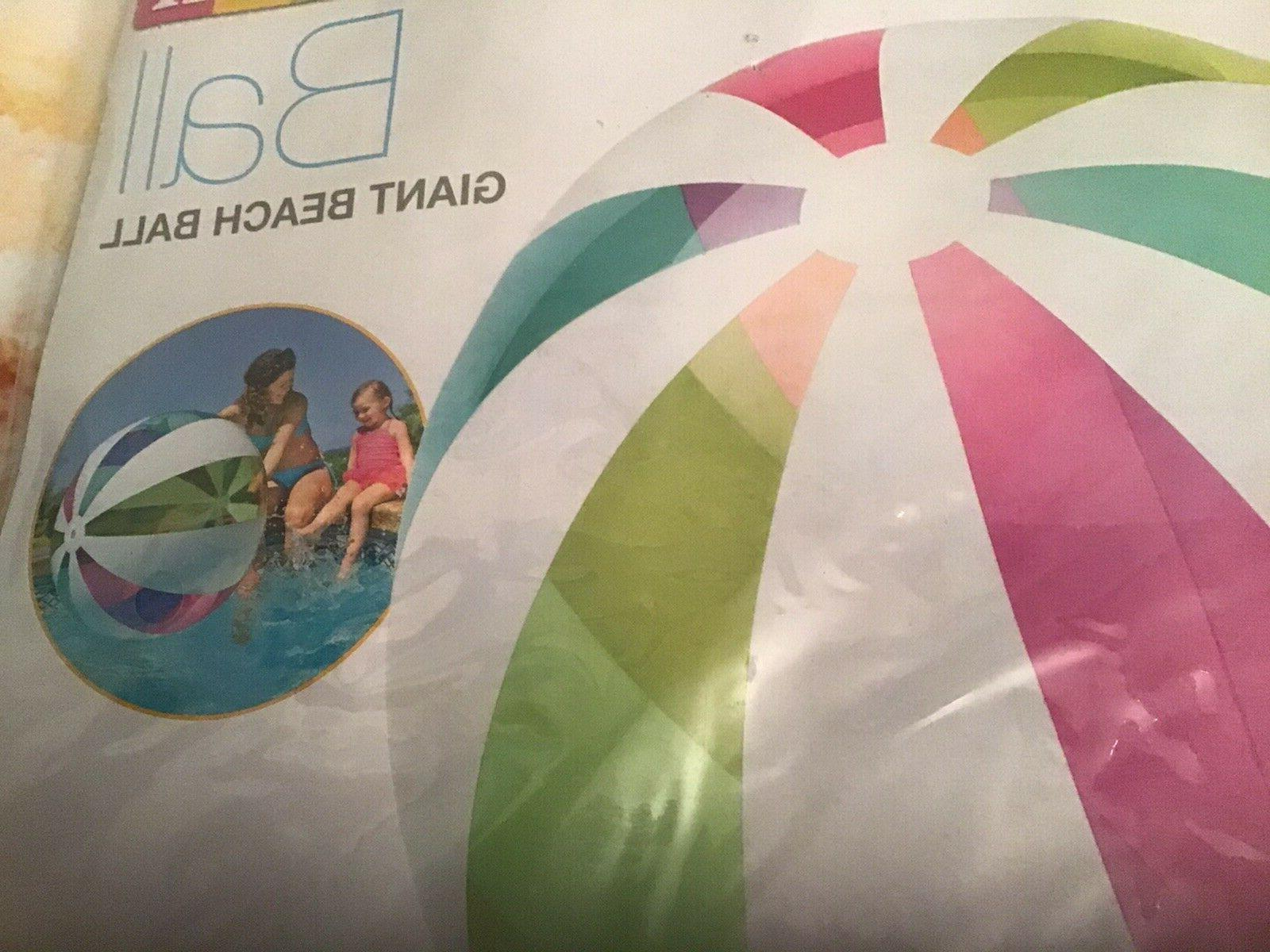 NEW Intex Ball Inflatable Beach Pool Color Stripes Ages 3+