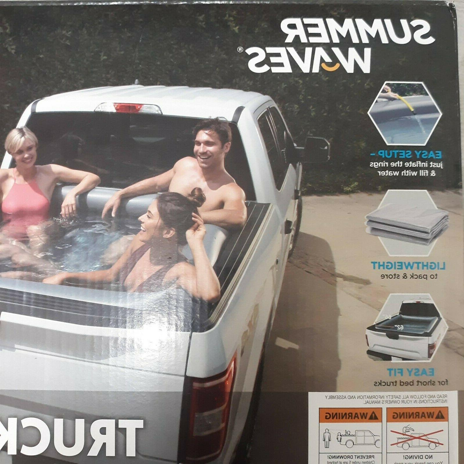NEW Summer Inflatable Truck Pool bed adults