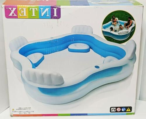 """NEW Swim Center Family Lounge Pool 90"""" 26"""" Ages"""